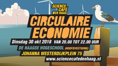 Flyer Science Café Den Haag