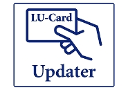 The updaters are indicated with the LU-Card logo