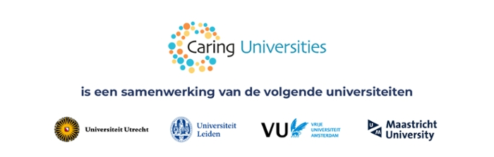 Logo Caring Universities