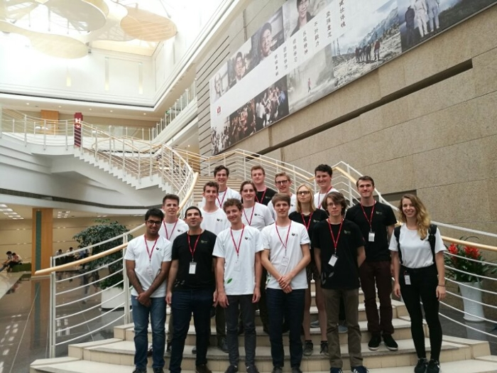 Astronomy bachelor´s students join Huawei programme in China